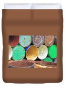 Metal Barrels 2 Duvet Cover