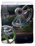 Antique Canon Mechanisms Duvet Cover
