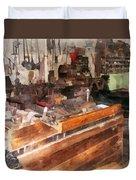 Metal Machine Shop Duvet Cover