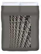 Metal Texture Forms Duvet Cover