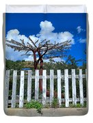 Metal Art Tree Bisbee Duvet Cover