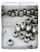 The Craftsman In Jodhpur Duvet Cover