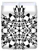Metatron Cube A Version Duvet Cover