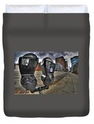 Meter Demons Duvet Cover