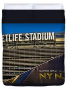 Metlife Stadium Super Bowl Xlviii Ny Nj Duvet Cover