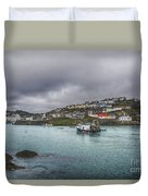 Mevagissy Cornwall Duvet Cover
