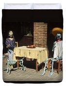 Mexican Antique Family Duvet Cover