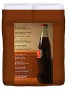 Mexican Coke Duvet Cover