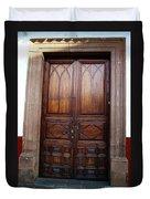 Mexican Door 62 Duvet Cover
