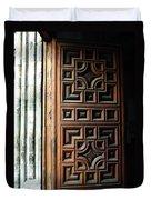 Mexican Door 64 Duvet Cover