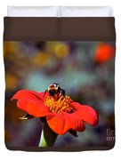 Mexican Sunflower Open House Party Time Duvet Cover