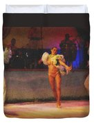 Mexican Traditional Dancers Duvet Cover