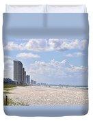 Mexico Beach Coastline Duvet Cover