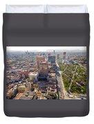 Mexico City Cityscape Duvet Cover by Jess Kraft