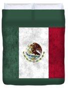 Mexico Flag Duvet Cover