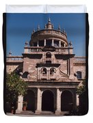 Mexico Orphanage 3 By Tom Ray Duvet Cover