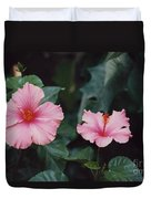 Mexico Pink Beauties By Tom Ray Duvet Cover