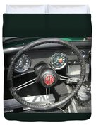 Mg Midget Instrument Panel Duvet Cover