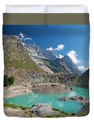 Miage Lake Duvet Cover