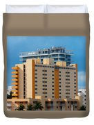 Miami Apartments Duvet Cover