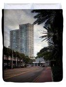 Miami Beach-0166 Duvet Cover