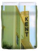 Miami Beach - Art Deco 10 Duvet Cover