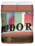 Miami Beach - Art Deco 11 Duvet Cover