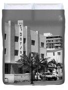 Miami Beach - Art Deco 24 Duvet Cover