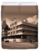 Miami Beach - Art Deco 35 Duvet Cover