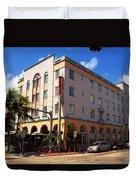 Miami Beach - Art Deco 36 Duvet Cover