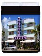 Miami Beach - Art Deco 37 Duvet Cover