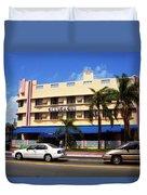 Miami Beach - Art Deco 38 Duvet Cover
