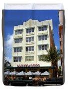 Miami Beach - Art Deco 43 Duvet Cover