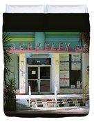 Miami Beach Hotel Duvet Cover