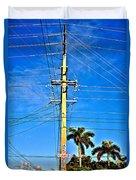 Miami Key West Duvet Cover