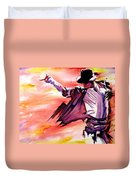 Michael Jackson-billie Jean Duvet Cover by Joshua Morton