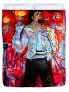Michael Jackson I'll Be There Duvet Cover