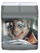 Michael Jackson - Mosaic Duvet Cover