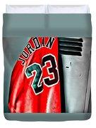 Michael Jordan 23 Shirt Duvet Cover