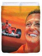 Michael Schumacher 2 Duvet Cover