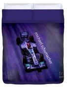 Michael Schumacher Duvet Cover