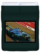 Michael Schumacher Silver Arrows Duvet Cover