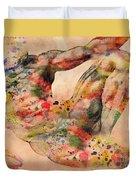 Michelangelo  Duvet Cover by Mark Ashkenazi