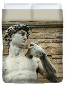 Michelangelo's David 1 Duvet Cover