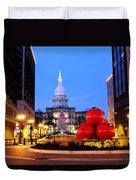 Michigan Capital Duvet Cover