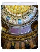 Michigan Capitol Dome Duvet Cover