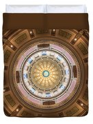 Michigan State Capital Dome Duvet Cover