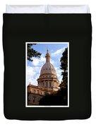 Michigan State Capitol Duvet Cover