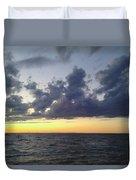 Michigan Sunset Duvet Cover