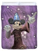 Mickey And The Stars Duvet Cover